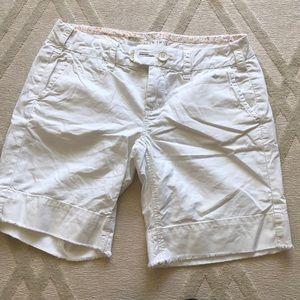 Anthropologie G1 paper twill shorts